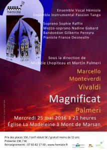 « Soirée Magnificat » @ Eglise de La Madeleine | Mont-de-Marsan | Aquitaine Limousin Poitou-Charentes | France