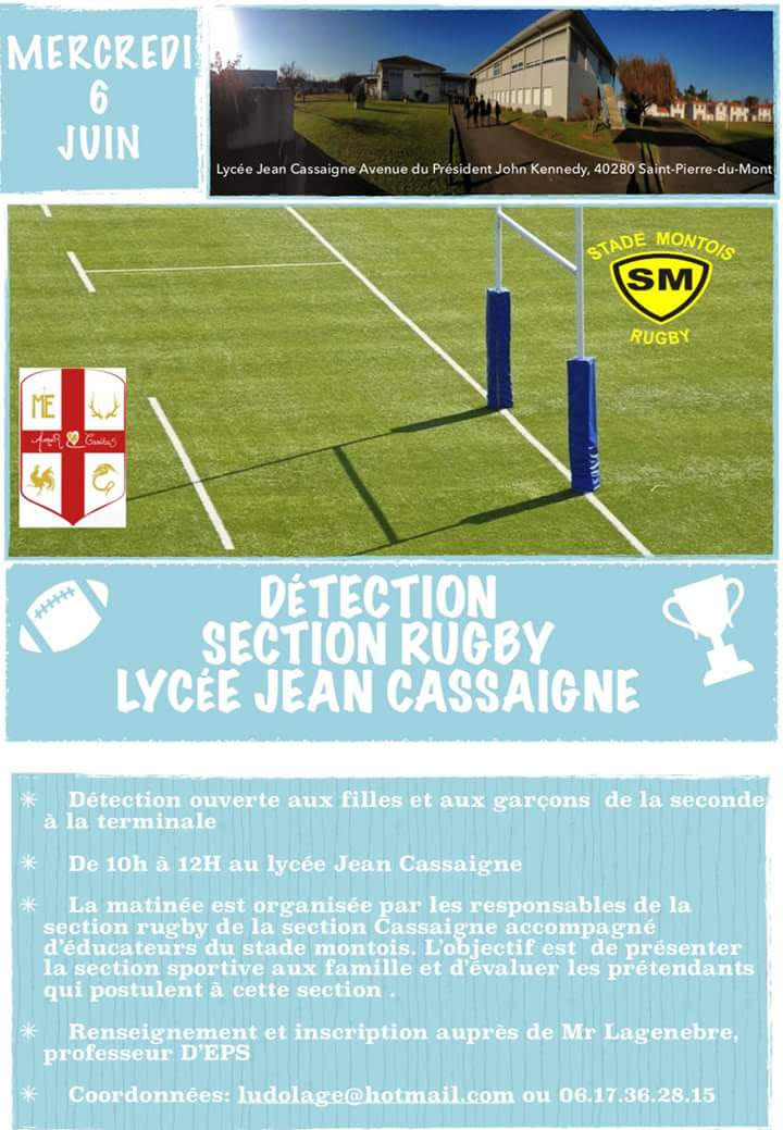 Détection Section Rugby