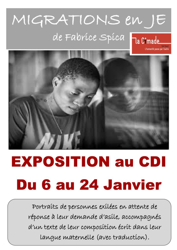 Exposition au CDI @ Lycée Jean Cassaigne